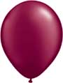 Pearl Burgundy Balloon